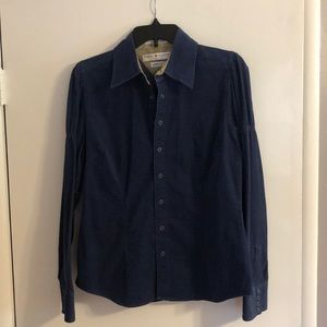 Tommy Hilfiger corduroy button down shirt